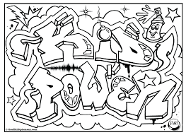 Printable Coloring Pages For Adults Easy Child Disney Frozen Kid Power Free Graffiti Page Colouring Sheet