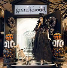 Grandin Road Christmas Trees by The Scare At Herald Square Grandin Road Halloween Shop Opens At