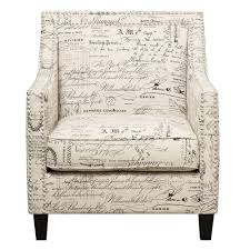 100 Accent Chairs With Arms And Ottoman Emery French Script Arm Chair And UER6362PC The Home Depot