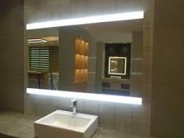 details zu badezimmerspiegel g18 mit led beleuchtung badspiegel wandspiegel bad spiegel