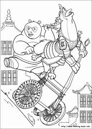 Kung Fu Panda31 Panda Coloring Pages
