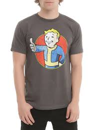 Pulp Fiction Pumpkin Shirt by Fallout Vault Boy Thumbs Up T Shirt Topic