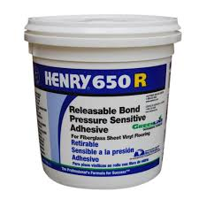 Tile Adhesive Remover Home Depot by Henry 650r 1 Gal Releasable Bond Pressure Sensitive Adhesive