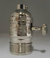 Decorative Metal Lamp Banding by Light Regular Turn Knob Sockets Lamp Regular Turn Knob Sockets