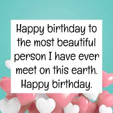 Happy Birthday Beautiful Message Birthday Wishes Pinterest