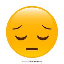 Pensive Face Emoji Clipart