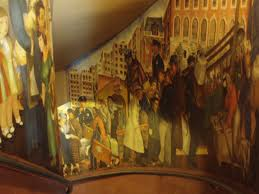 Coit Tower Murals Images by Coit Tower Murals Ontheporch2