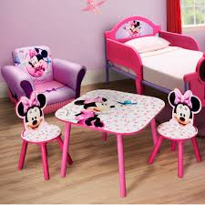 minnie mouse chairs and table Cute Minnie Mouse Furniture