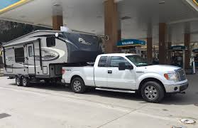 Can A Half-Ton Pickup Truck Tow A 5th Wheel RV Trailer? - The Fast ... Rv Towing Tips How To Prevent Trailer Sway Tow A Car Lifestyle Magazine Whos Their Fifth Wheel With A Gas Truck Intended For The Best Travel Trailers Digital Trends Tiny Camper Transforms Into Mini Boat For Just 17k Curbed Rules And Regulations Thrghout Canada Trend Why We Bought Casita Two Happy Campers What Know Before You Fifthwheel Autoguidecom News I Learned Towing 2000lb Camper 2500 Miles Subaru Outback