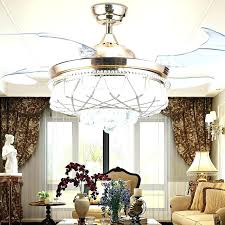High End Ceiling Fans With Lights Luxury Modern Crystals Powered For