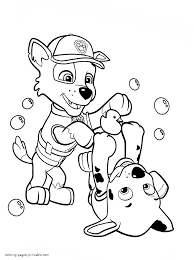 Paw Patrol Coloring Sheets Printable Kid Activities