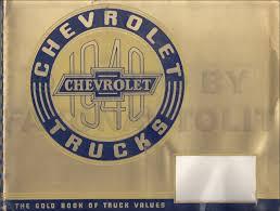 100 1940 Chevrolet Truck Dealer Album Original