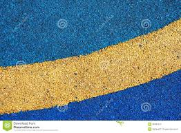 Texture Of Color Rubber Floor On Playground Stock Photo 36482015