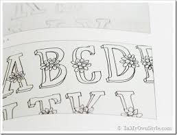 Flower Hand Drawn Lettering