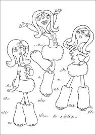 Monsters University Coloring Pages