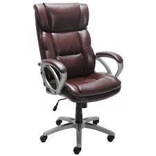 Fabric Task Chair Walmart by Broyhill Bonded Leather Executive Chair Walmart Com