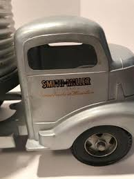 100 Smith Miller Trucks Lot Truck And TrailerOne Tire On Semi Looks To Be