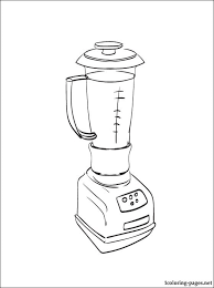 Coloring Book With A Blender For Free Those Who Want To Know More About The Cooking UtensilsKitchen ToolsColoring BooksColoring PagesBlenders