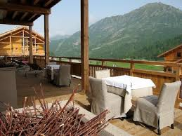 view from restaurant picture of hotel le chalet blanc