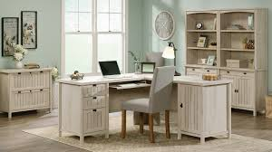 Sauder Heritage Hill 65 Executive Desk by Cottage Style Office Furniture Coastal Beach Style Home Office
