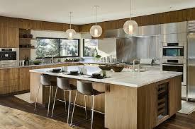 cuisine usa lot cuisine maison bois et contemporaine sun valley