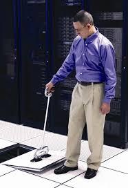 standup floor tile puller data center store
