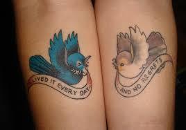 Lovely Bird Tattoos 1