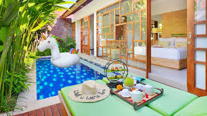 100 Bali Tea House Manca Villa Romantic One Bedroom Private Pool Villa In