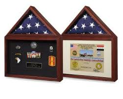 Flag Plus Certificate Display Case And Medal Box Shadow Create A Perfect