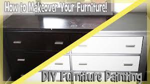 DIY Paint Bedroom Furniture Easy