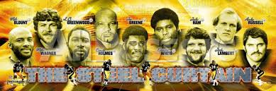 Pittsburgh Steelers Behind The Steel Curtain by Original Steel Curtain Pittsburgh Steelers Centerfordemocracy Org