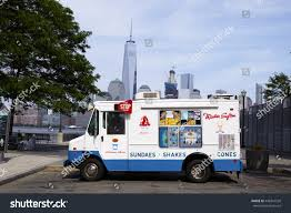 White Mister Softee Ice Cream Truck Stock Photo (Edit Now) 448341550 ...