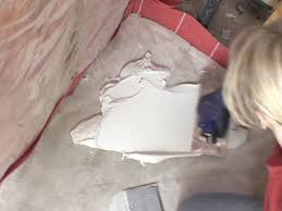 Thinset For Glass Mosaic Tile by How To Install Mosaic Tile On A Shower Floor How Tos Diy