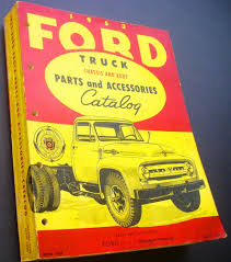 100 Ford Truck Body Parts 1953 And Accessories Catalog Book Chassis