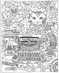 24 Pages 185x21cm Colouring Book Creative Haven Cats Coloring Books For Adults Stress Relieving Antistress Hot In Painting Paper From Home
