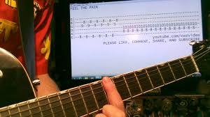 Smashing Pumpkins 1979 Bass Tab by Guitar Lessons Online Dinosaur Jr Feel The Pain Tab Youtube