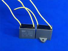 Cbb61 Ceiling Fan Capacitor 2 Wire by Ceiling Fan Capacitor Cbb61 3uf 2 Wire 450v Ebay