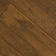 Top Down View Of A Wood Texture Laminate Floor