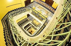 deco imperial hotel historical staircase picture of