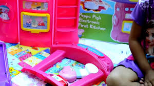 new peppa pig s electronic kitchen 15 pcs kitchen accessories l balloons and toys