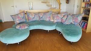 wohnzimmer sofa garnitur 50er jahre gebraucht leder