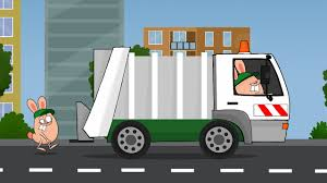 Garbage Truck Song - Songs For Kids By Tales4Fun - YouTube