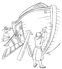 Downloads Online Coloring Page Noah Ark Pages 30 For Site With