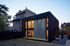 maison en cube moderne so bois i cube 45 wooden kit house building houses