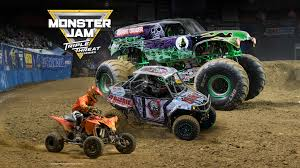 Monster Jam Triple Threat Series Presented By Bridgestone Arena ...
