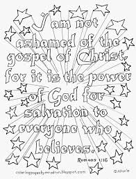 Printable Bible Coloring Pages With Verses Verse