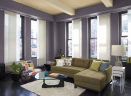 Grey And Purple Living Room by Interior Design Living Room Green And Yellow Color Color Scheme