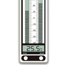 thermometre maxima minima exterieur grand thermomètre à minima et maxima électronique 315el pour usage