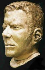 Halloween Mask William Shatners Face by Film Credits