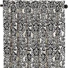 Pier One Curtains Panels by Free Pier One Damask White Black Panel Curtains Lot 4 Other
